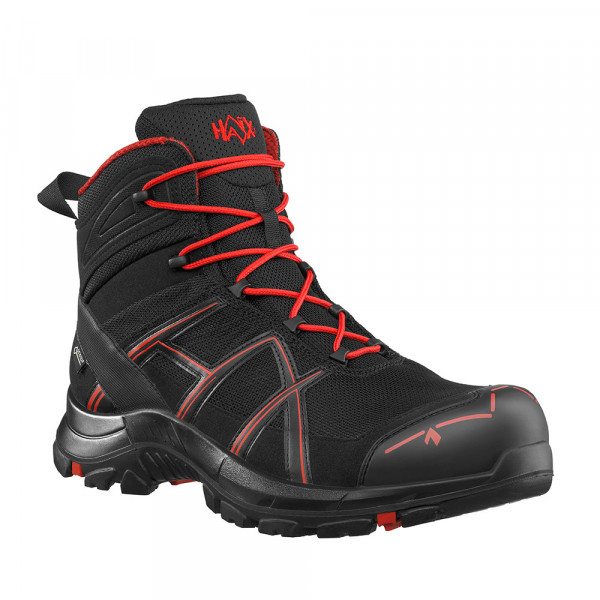 HAIX Black Eagle Safety 40.1 mid/black-red