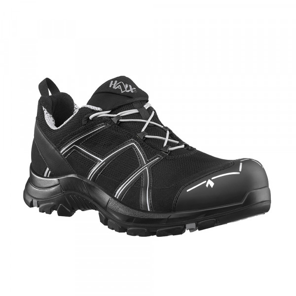 HAIX Black Eagle Safety 41.1 low/black-silver